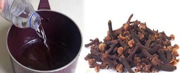 4- Karanfilli suyun hazırlanışı :