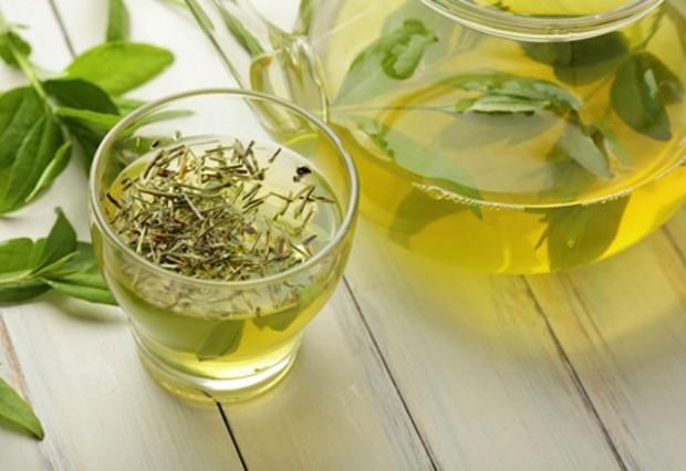 7- Yeşil çay için