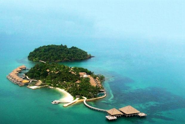 Adanın genel görüntüsü şöyle: