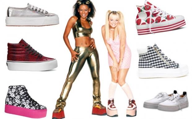 12. Spice Girls ayakkabıları
