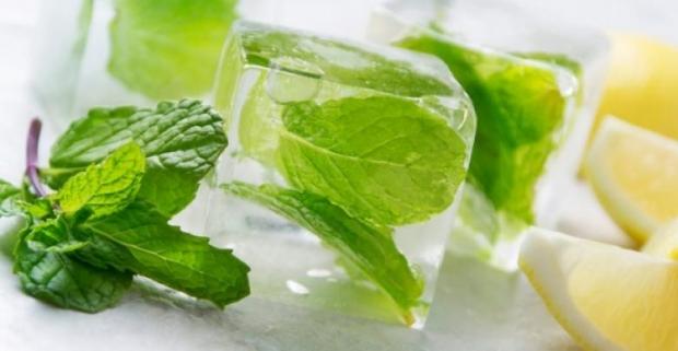 10. Taze nane gibi yeşil baharatları suyun içine atıp dondurun, bu sayede tazeliklerini uzun süre korurlar.